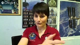 Intervista a Samantha Cristoforetti a 18 giorni dal lancio
