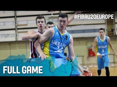 Latvia v Ukraine - Full Game - FIBA U20 European Championship 2017