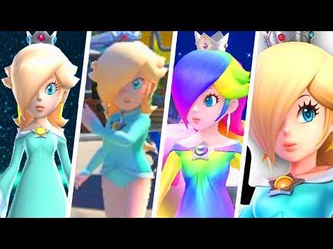 Evolution of Princess Rosalina Outfits (2007 - 2018)