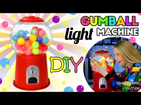 Thumbnail: How To Make A Gumball Machine Light – DIY Gumball Machine Night Light Tutorial