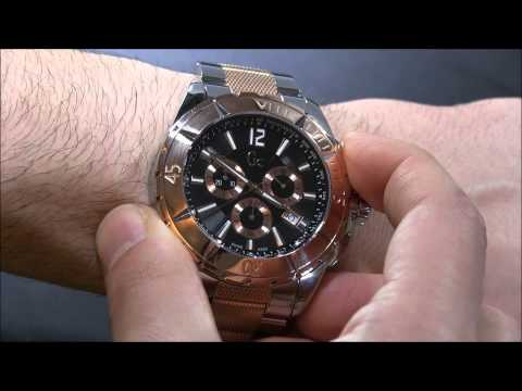 d106996e0c1 Guess Gc Watches Sport Class XXL Review - YouTube