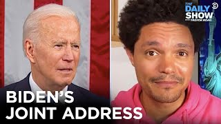 Biden's Big Speech: Progressive Proposals & Ted Cruz Caught Napping | The Daily Show