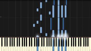 Tiesto - Adagio For Strings [Piano Tutorial] (Synthesia)