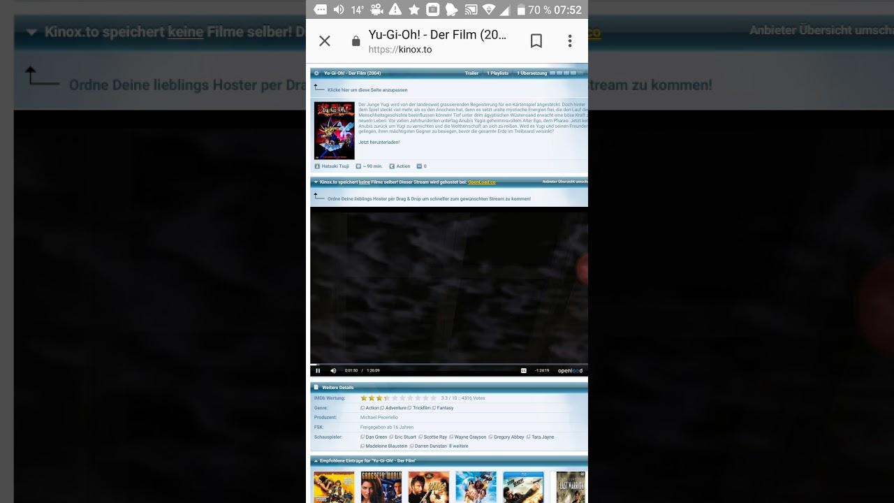 Yugioh Der Film Stream