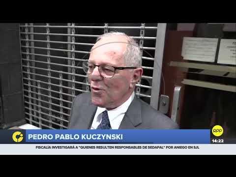 """PPK declaró ante el fiscal José Domingo Pérez: """"No he contratado con Odebrecht nunca"""""""