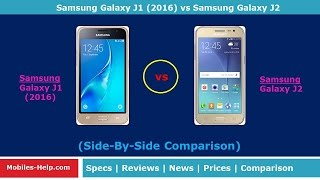 Samsung Galaxy J1 2016 Vs Samsung Galaxy J2  - What's The Difference?