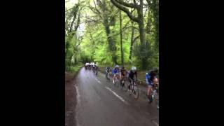 Martin Hulbert in vets road race at Herriard 03/15