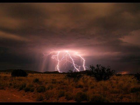 Storm In The Desert At Walker River Nevada