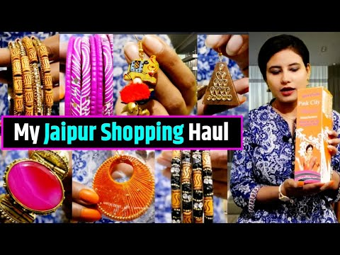 Jaipur Shopping Haul. My Jaipur and Jodhpur Trip with lots of Shopping in Pink city.