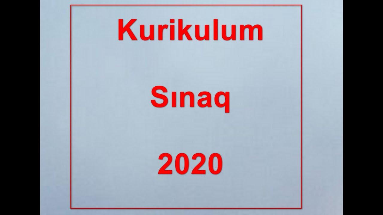 #MIQ  05.07. 2021  kurikulum testlərinin izahı....