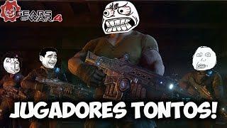 LOS JUGADORES MAS TONTOS, MOMENTOS DIVERTIDOS, (Funny Moments) | GEARS OF WAR 4 - PACO TORREAR