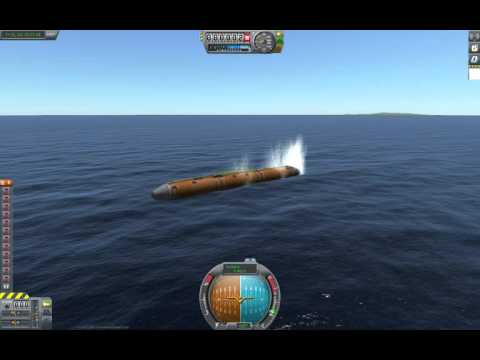 raw video - shuttle test flight with a recoverable fuel tank