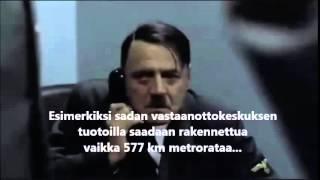 Hitler kuulee suomalaisten rasistisuudesta