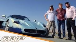 3 Millionen Euro Spielzeug | Maserati MC12 Corsa | GRIP