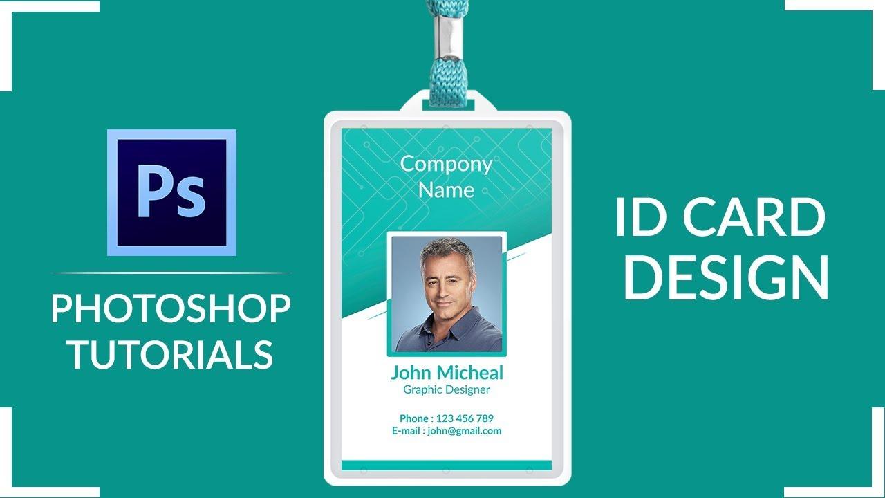 Company ID Card Design | Employee ID Card Design in Photoshop | Card Design |