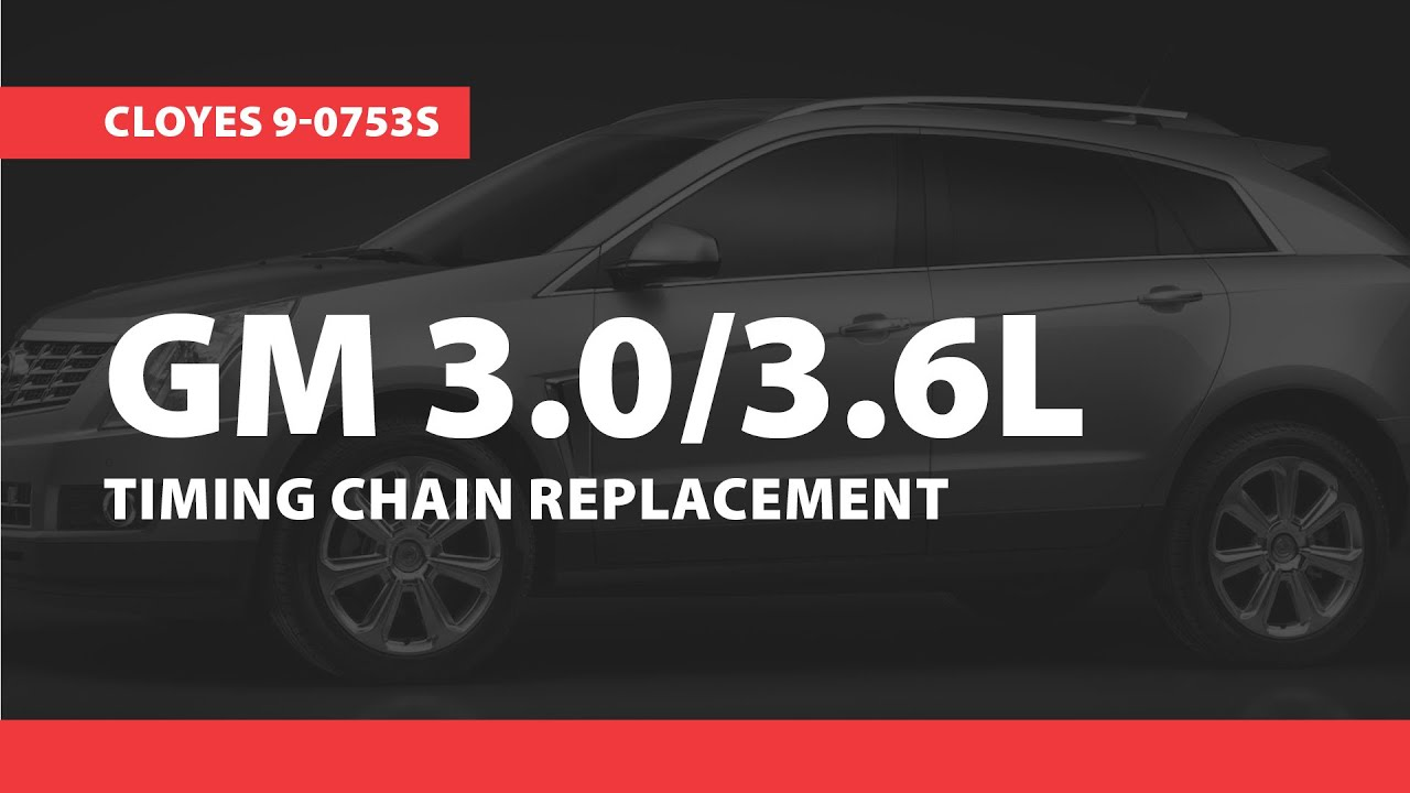 GM Timing Replacement, HFV6 20072015, (Cloyes 90753S