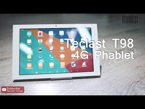 Teclast T98 10.1 inch Screen 4G Phablet - Gearbest.com