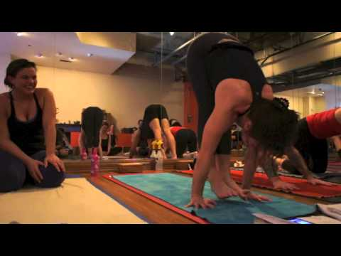 Yoga Tips with Christina Sell - Floating in Sun salutation - surya namaskar asana