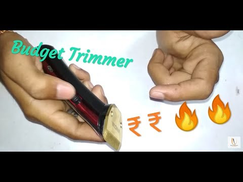 Trimmer NOVA NHT-1049 | Unboxing | Best Budget Trimmer | Review in Hindi