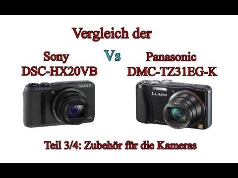 """Vergleich der """"Sony Cyber-shot DSC-HX20V"""" mit der """"Panasonic Lumix DMC-TZ31"""" -Teil 3/4-"""