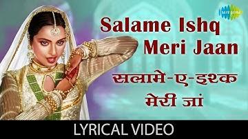 Salam e Ishq with lyrics   सलाम ए इश्क़ गाने के बोल   Muqaddar ka Sikandar   Rekha   Amitabh Bachchan