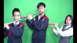 聖公會基榮小學_音樂_樂器介紹_長笛!