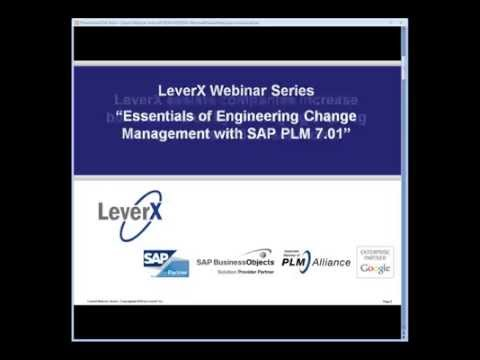 2010 12 10 08 31 Essentials of Engineering Change Management with SAP PLM 7 01