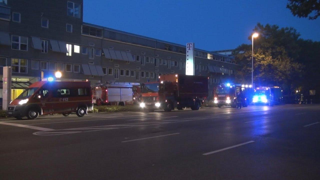 Tiefgaragenbrand In T Mobile Zentrale In Bonn Mit Warndurchsage O