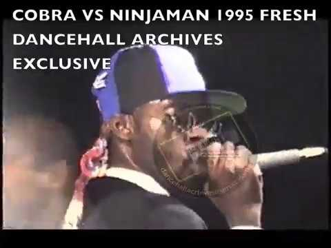 COBRA VS NINJAMAN 1995 FRESH JAMAICA STAGE SHOW