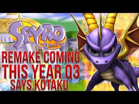 Spyro The Dragon PS4 HD Remake Releasing This Year Says Kotaku