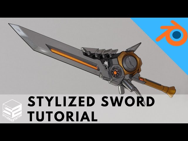 Tutorial: Learn to model a BADASS Stylized Sword in Blender 2.8 [Part 1]