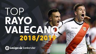TOP Goles Rayo Vallecano LaLiga Santander 2018/2019