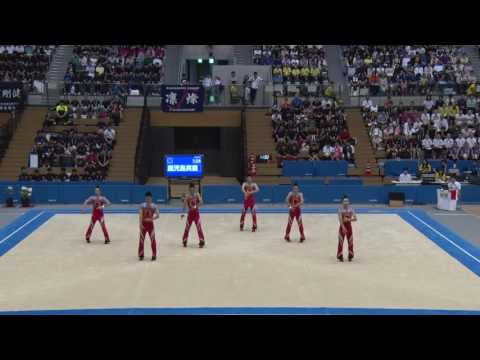 Gymnastics men's rhythmic gymnastics group finals Kagoshima businessman (Kagoshima)