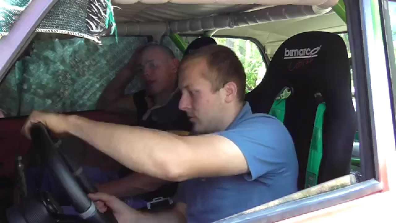 Обзор-ТестДрайв VAZ 2105 16V Drift Korch, Наваливаем на Обкатке:)История постройки Корча-Жигулей