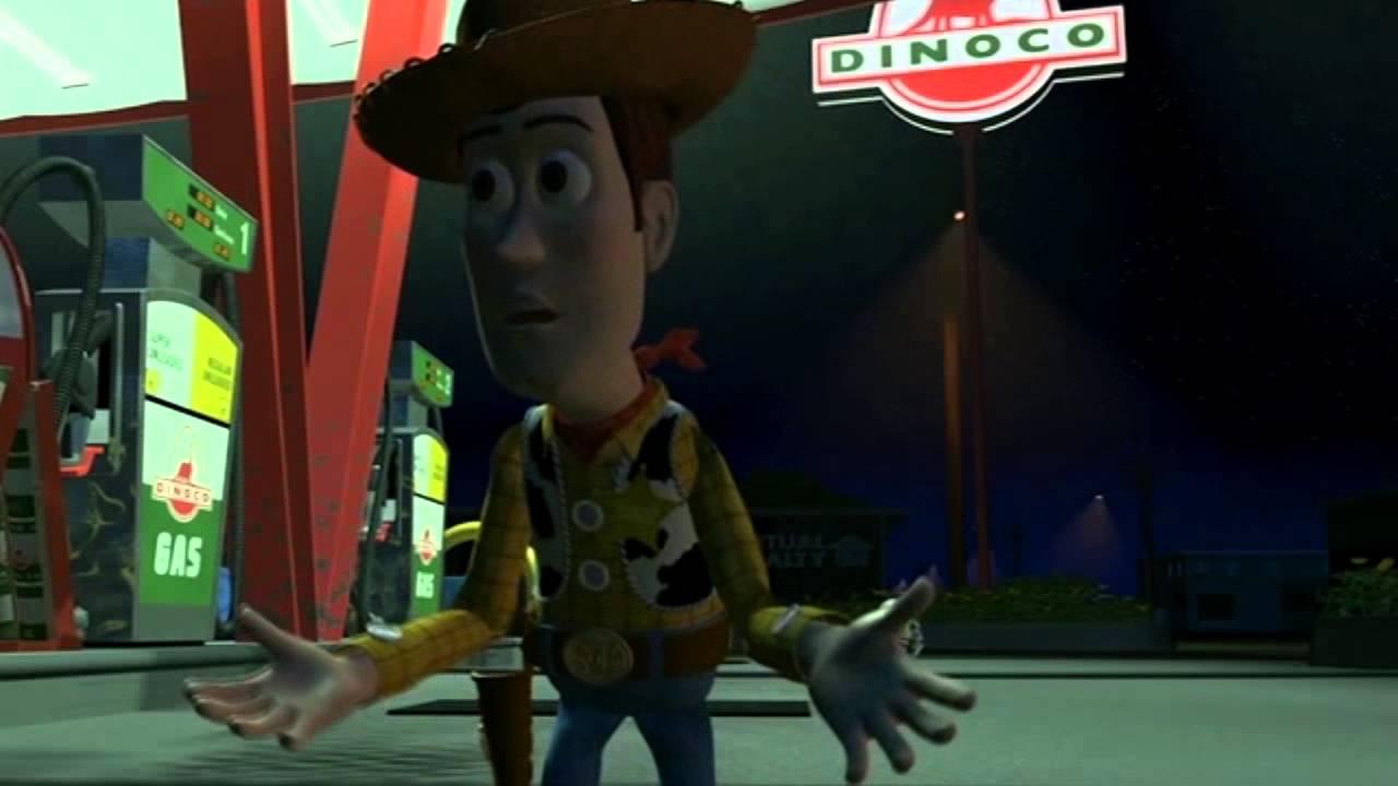 I Need A Gas Station >> TOY STORY - Buzz e Woody doppiaggio al femminile xD - YouTube