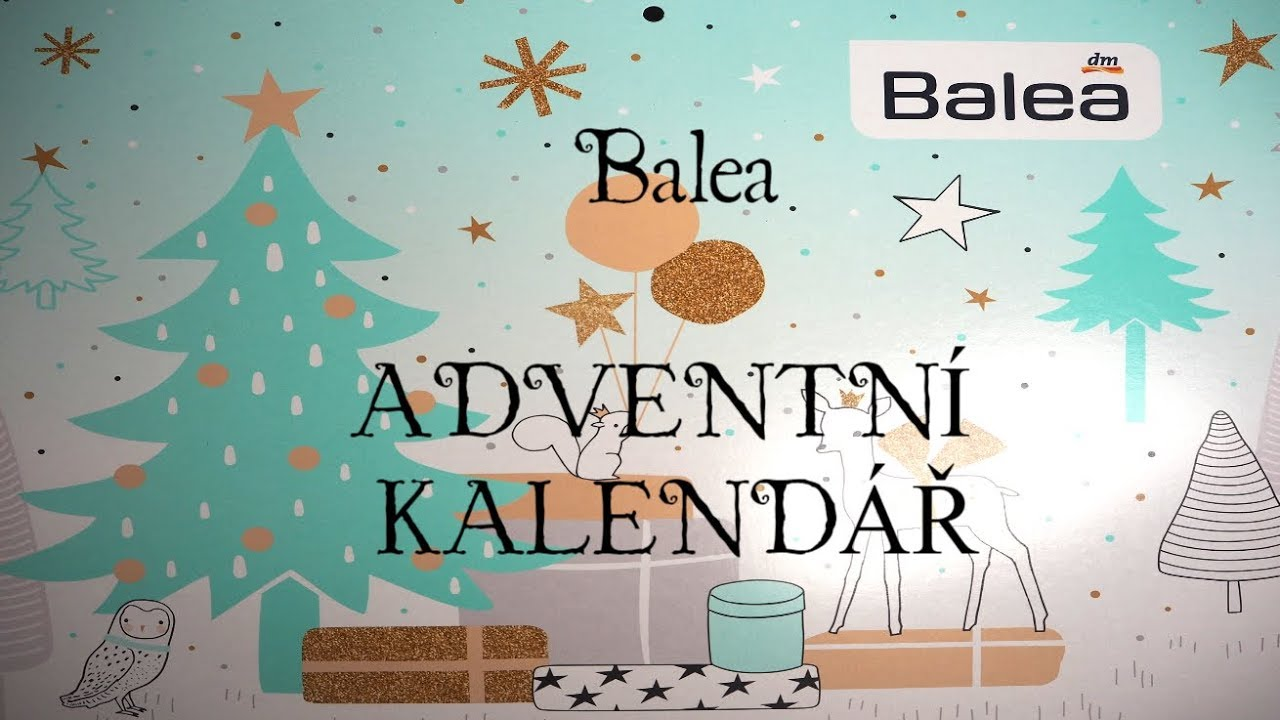 dm adventni kalendar BALEA ADVENTNÍ KALENDÁŘ   YouTube dm adventni kalendar