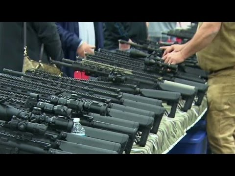 ATMs Out Of Money At Virginia Gun Show