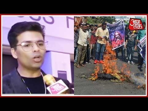 Karan Johar Reacts To Karni Sena's Protest Against Release of Padmavat