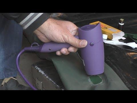 Как правильно клеить резиновую лодку
