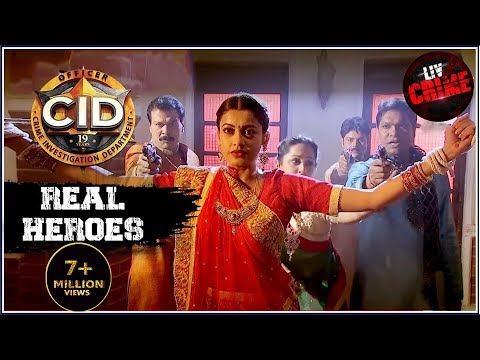 Daya In Disguise | C.I.D | सीआईडी | Real Heroes