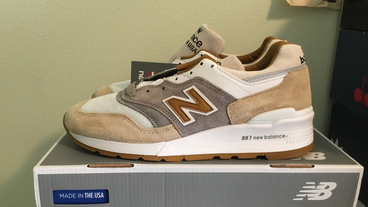 los angeles 826c8 53bdb J.Crew x New Balance 997 'Cortado' Sneaker Unboxing