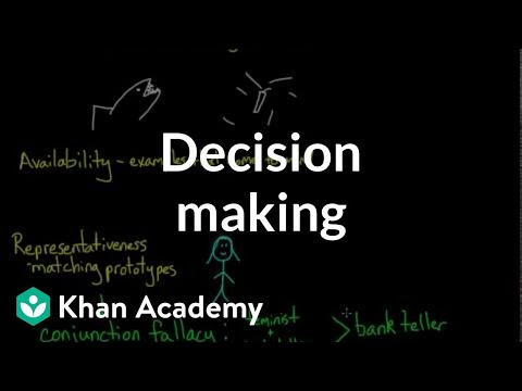 Decision making | Processing the Environment | MCAT | Khan Academy