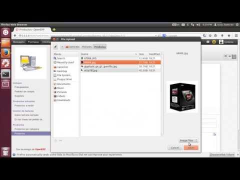 Tutorial openERP - 7. Alta de Productos de Almacén de YouTube · Duração:  4 minutos 36 segundos