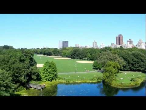 Central Park vom Castle Belvedere New York City