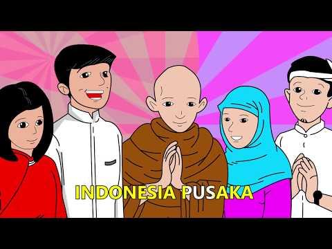 Animasi Lagu Satu Nusa Satu Bangsa