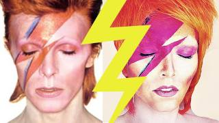 Ziggy Stardust  (Aladdin Sane) Make-Up | Kandee Johnson