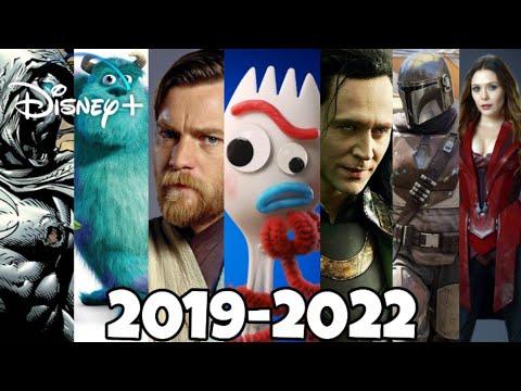 Upcoming Disney+ Movies and Series (2019-2022)