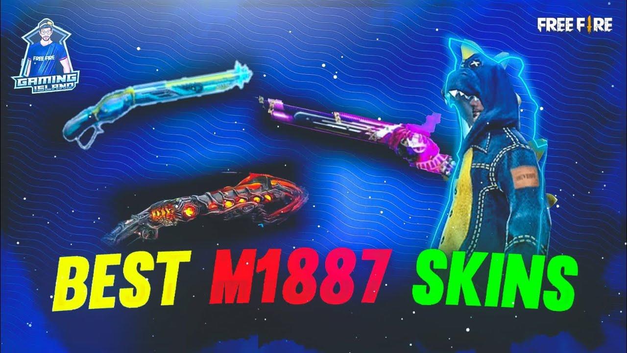 Best M1887 Skin In FreeFire | Top 5 Best M1887 Gun Skin | Top 5 M1887 Gun Skin Of FreeFire  |