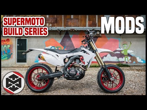 2015 Honda CRF450R Supermoto Mods!! Total Cost?