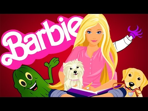 Barbie Life in the Dreamhouse! Joker hunt for Barbie and her car! In Real Life!